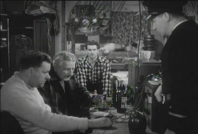 Laurence Olivier Finlay Currie Raymond Lovell Eric Portman chess schach Michael Powell 49th Parallel