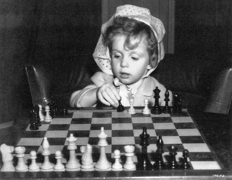Baby Sandy chess schach Harold Young Bachelor Daddy