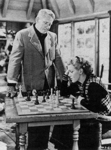 Lana Turner Spencer Tracy chess schach George Sidney Cass Timberlane