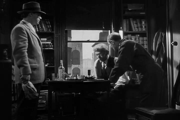 Alan Napier chess schach Robert Siodmak Criss Cross