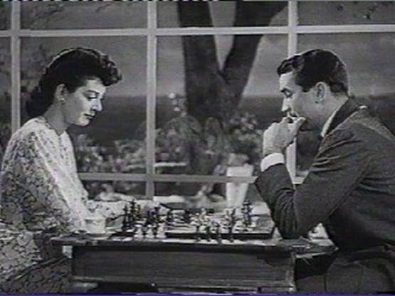 Rosalind Russel chess schach Norman Taurog Design for Scandal