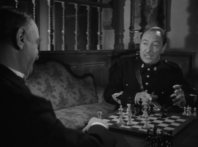Anne Gwynne John Carradine Lionel Atwill chess schach Erle C. Kenton House of Frankenstein