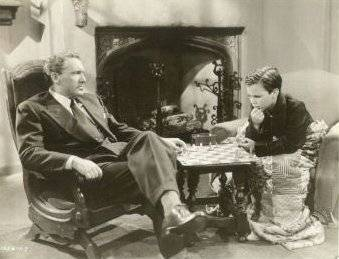 Spencer Tracy Darryl Hickman chess schach George Cukor Keeper Of The Flame