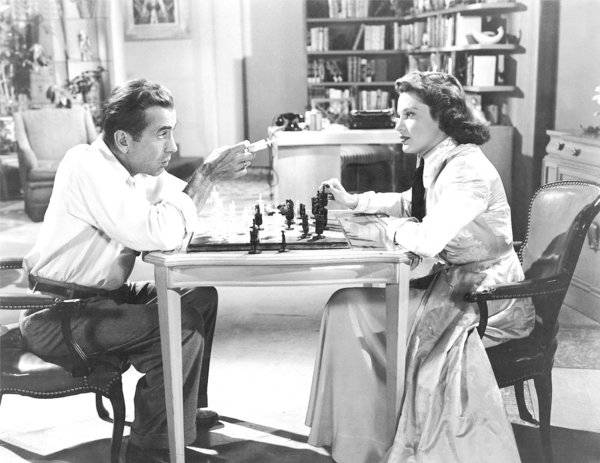 Susan Perry Humphrey Bogart chess schach Nicolas Ray Knock On Any Door