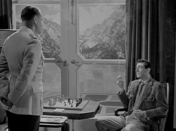 Walter Pidgeon chess schach Fritz Lang Man Hunt