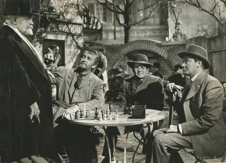 Doris Dudley Herbert Marshall George Sanders Steven Geray chess schach Albert Lewin Moon and Sixpence, The