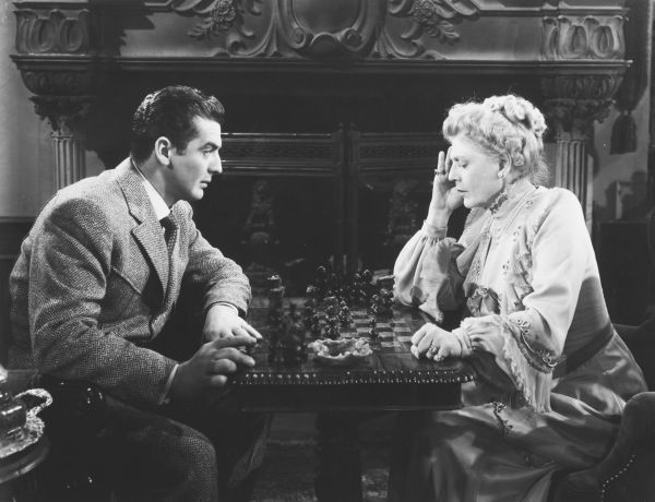 Ethel Barrymore Victor Mature chess schach Gregory Ratoff Moss Rose