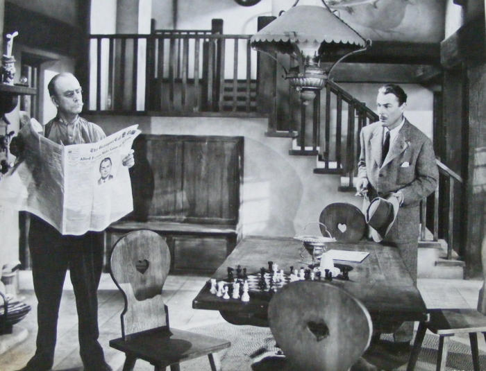 Brian Donlevy Eustace Wyatt chess schach Tim Whelan Nightmare
