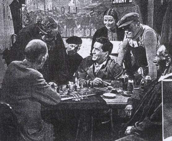 Tyrone Power chess schach Edmund Goulding Razor's Edge, The