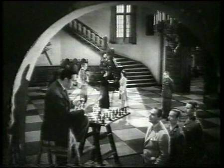 Basil Rathbone chess schach Roy William Neill Sherlock Holmes Faces Death