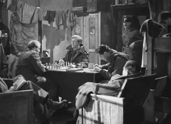 Michael Redgrave chess schach Basil Dearden Captive Heart, The