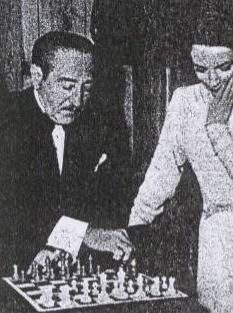 Deborah Kerr Adolphe Menjou chess schach Jack Conway Hucksters, The