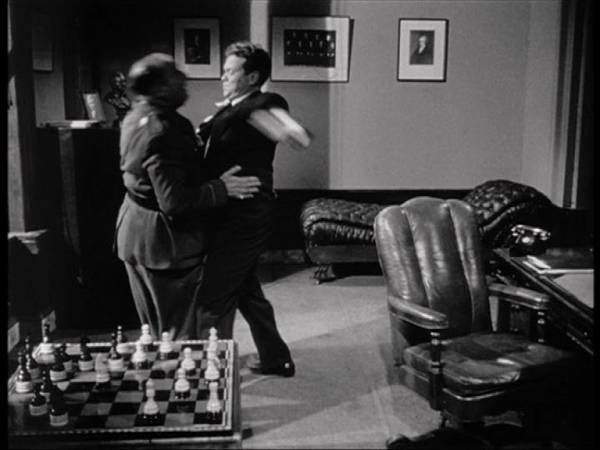 Erskine Sandford chess schach Orson Welles Lady from Shanghai, The