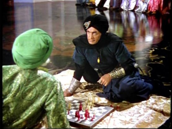 Conrad Veith Miles Malleson chess schach L.Berger, M.Powell Thief of Bagdad, The
