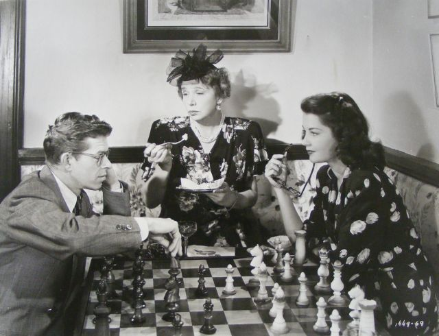 Sue England Jess Barker chess schach William Dieterle This Love of Ours