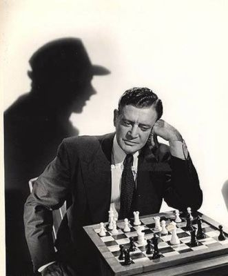 Richard Dix chess schach William Castle Voice Of The Whistler