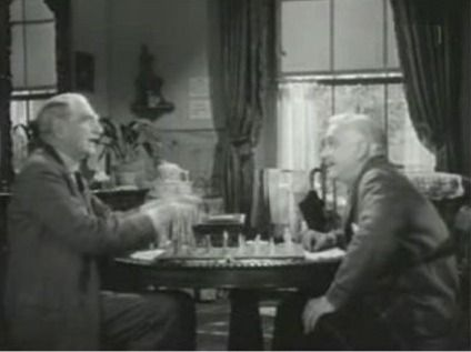 Irene Dunne C. Aubrey Smith Frank Morgan chess schach Clarence Brown White Cliffs of Dover, The