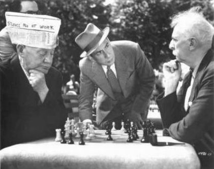 Jose Ferrer chess schach George Seaton Anything Can Happen