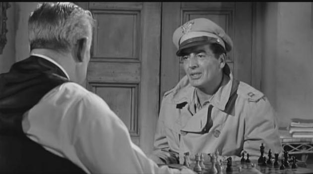 Victor Mature Ward Bond chess schach Frank Borzage China Doll