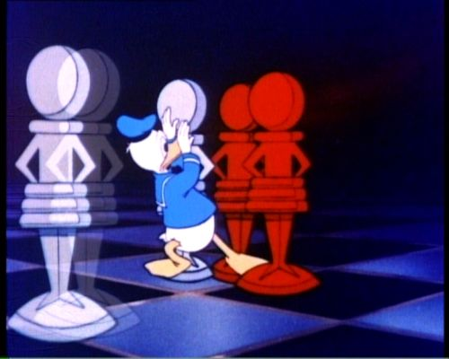 chess schach Donald in Mathmagicland