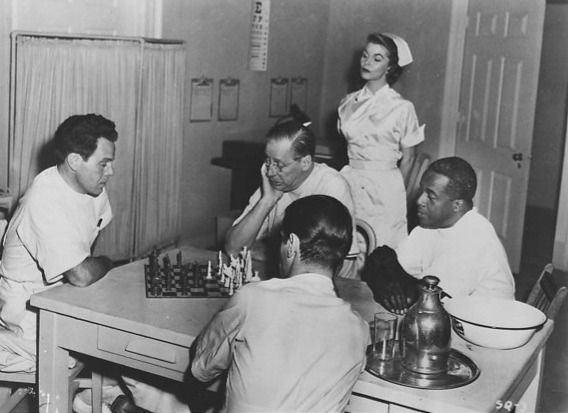 Louis Hayward chess schach Walter Doniger Duffy of Saint Quentin