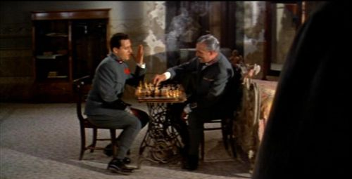 Jennifer Jones Rock Hudson chess schach Charles Vidor Farewell to Arms, A