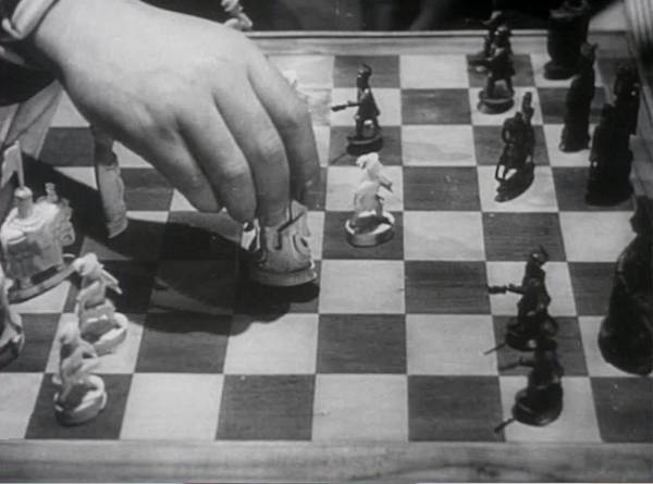 Joseph Tomelty Gilbert Harding chess schach Basil Dearden Gentle Gunman, The