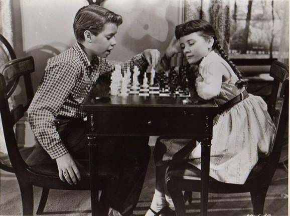 Patty Duke Kevin Coughlin chess schach David Miller Happy Anniversary