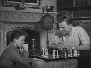 Richard Eyer Philip Abbott chess schach Herman Hoffman Invisible Boy, The