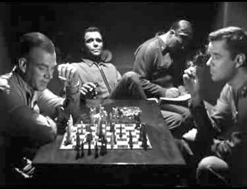 Marshall Thompson chess schach Edward L. Cahn It! The Terror from Beyond Space