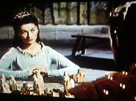 Robert Taylor Ava Gardner chess schach Richard Thorpe Knights Of The Round Table