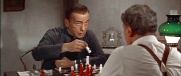 Humphrey Bogart E.G. Marshall chess schach Edward Dmytryk Left Hand of God, The