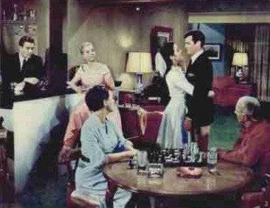 Tony Curtis chess schach Blake Edwars Mister Cory