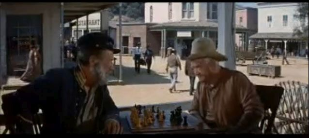 Audie Murphy chess schach Jack Arnold No Name on the Bullet