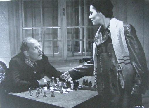 Viveca Lindfors chess schach Don Siegel No Time for Flowers