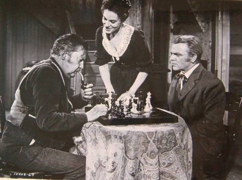 James Cagney Viveca Lindfors chess schach Nicholas Ray Run for Cover