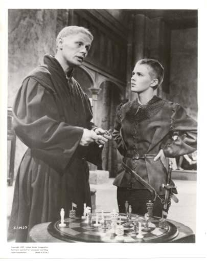 Jean Seberg Richard Widmark chess schach Otto Preminger Saint Joan