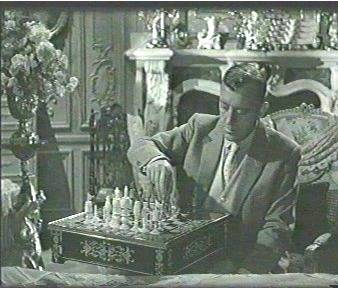 Betty Davies Alec Guinness chess schach Robert Hamer Scapegoat, The