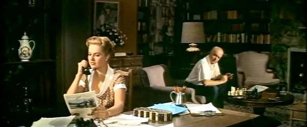 Martha Hyer Larry Gates chess schach Vincente Minelli Some Came Running