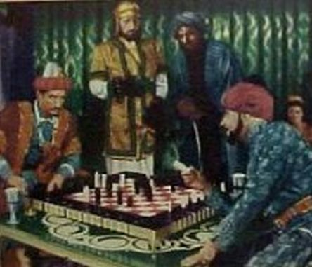 chess schach Kurt Neumann Son of Ali Baba