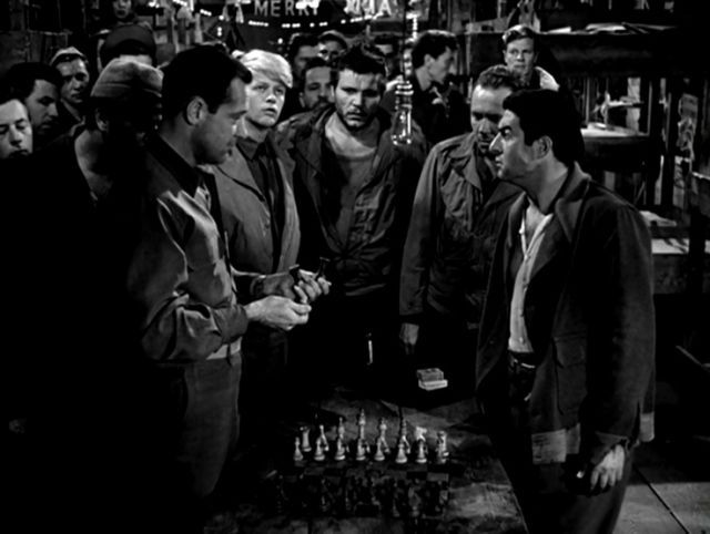 William Holden Peter Graves Otto Preminger chess schach Billy Wilder Stalag 17