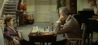 Richard Widmark chess schach Vincente Minelli Cobweb, The