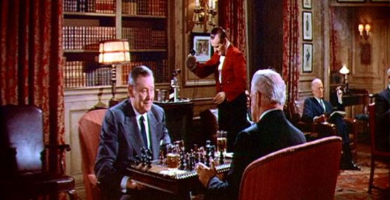 Vincent Price Herbert Marshall chess schach Kurt Neumann Fly, The