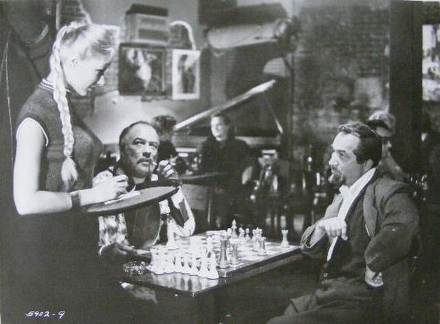 Vikki Dougan Sidney Homer Edward Platt chess schach Gene Fowler jr. Rebel Set, The