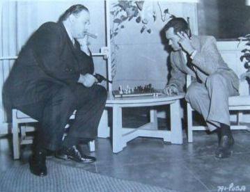 Frank Lovejoy Dan Seymour chess schach Lewis Seiler System, The