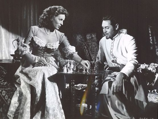 Maureen O'Hara Philip Reed chess schach Will Price Tripoli