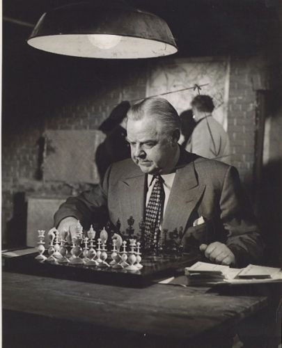 Gene Lockhart chess schach Lindsay Hardy World for Ranson, The