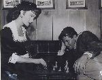 Jeanne Crain Glenn Ford Russell Rouse chess schach ajedrez echecs