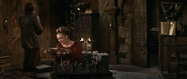 Vanessa Redgrave Lionel Jeffries Richard Harris chess schach Joshua Logan Camelot