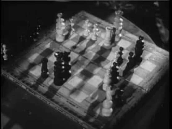 Santo Noemi Gonzalez chess schach Roger Corman Creature from the Haunted Sea